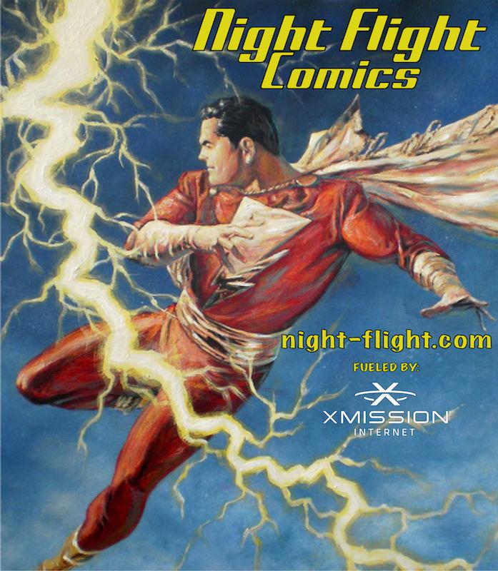 Night Flight Comics
