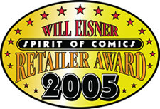 Eisner 2005 award recipient Night Flight Comics