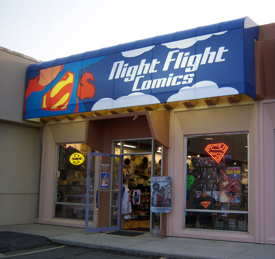 Night Flight Comics • 6222 South State Street • 801.263.1940