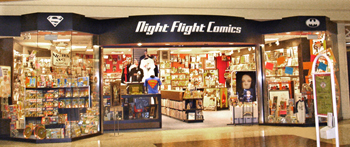 Night Flight Comics @ Cottonwood Mall